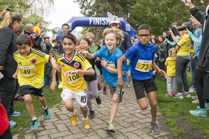 Granville Island Turkey Trot Kids Run - 2015
